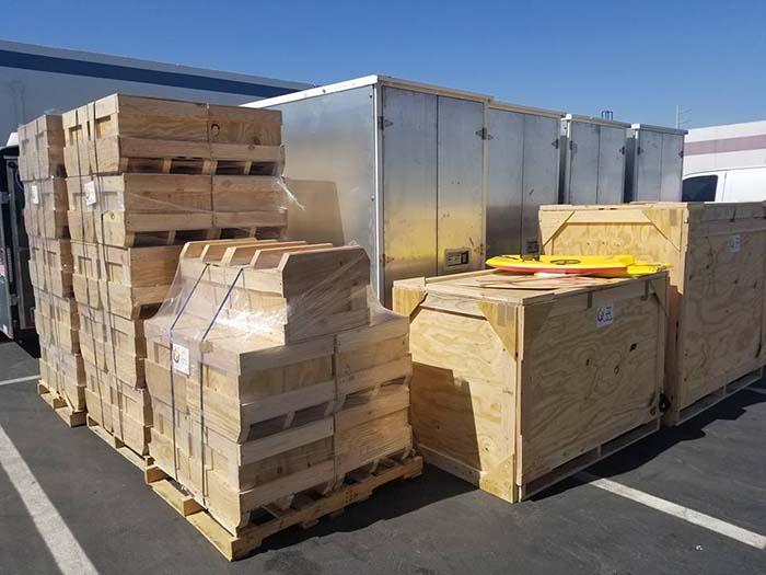 custom crate packing